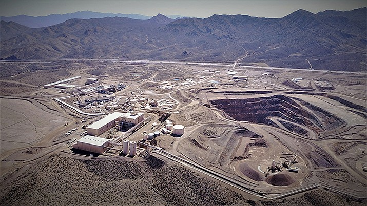 Mountain Pass Mine in San Bernardino County, California is the only producer of rare earth minerals in the United States. Rising trade tensions have many people worried about the 17 exotic-sounding rare earth minerals needed to make high-tech products like robotics, drones and electric cars. (Photo courtesy of JHL Capital Group LLC)