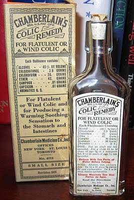 "Chamberlain's Colic Remedy, ""Civil War Medicine (and Writing)"" blog by Jim Schmidt (Image courtesy of Google Images)"