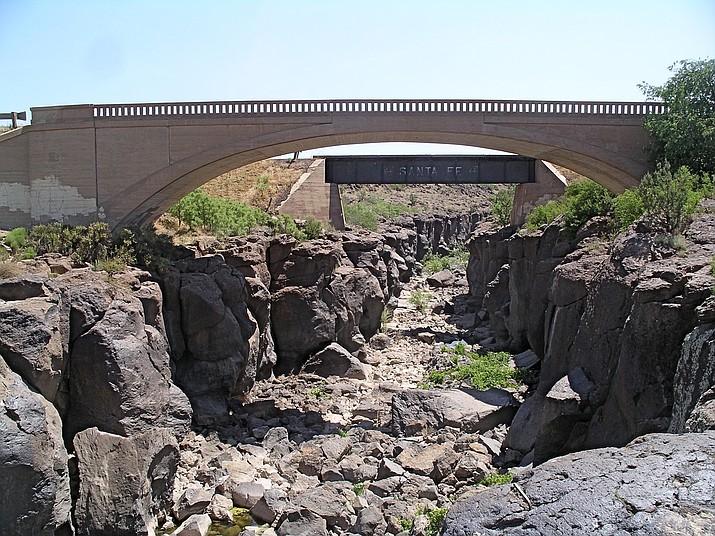 Verde River Gorge — dry as a bone! (Nigel Reynolds/Courtesy)