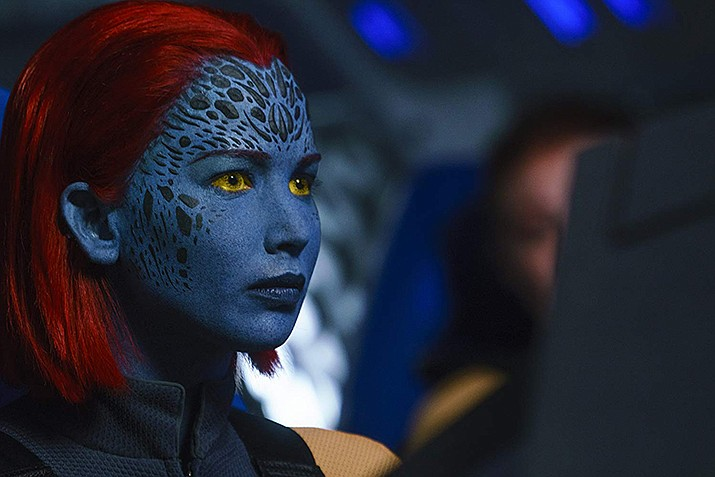 Jennifer Lawrence as Mystique. (Twentieth Century Fox)