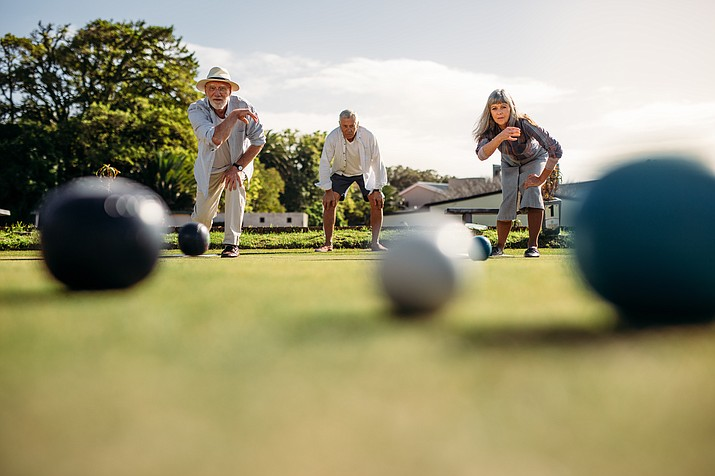 Free Bocce Ball lessons and games, 10 a.m. at Watson Lake Park. Free parking and admission on Wednesdays. (Courier stock photo)