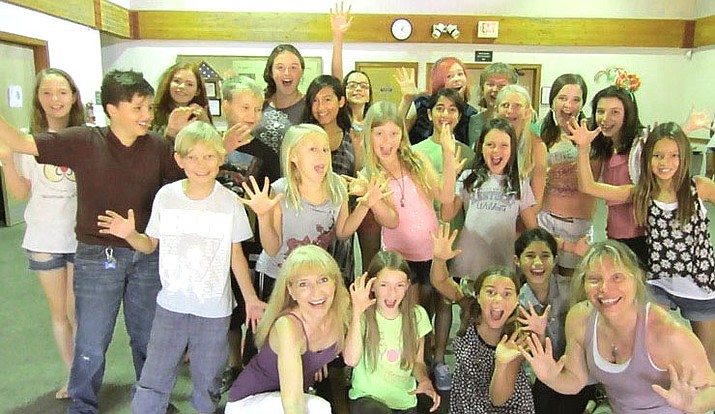 "Jepperson said, ""We have so many talented kids here in Sedona and the Verde Valley. It's very rewarding to work with these kids and see what their talents bring to the performance at the end of the workshop."""