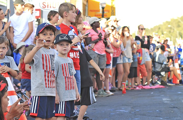 The city of Williams is hosting fireworks and a parade to celebrate the Fourth of July this year. (Loretta Yerian/WGCN)