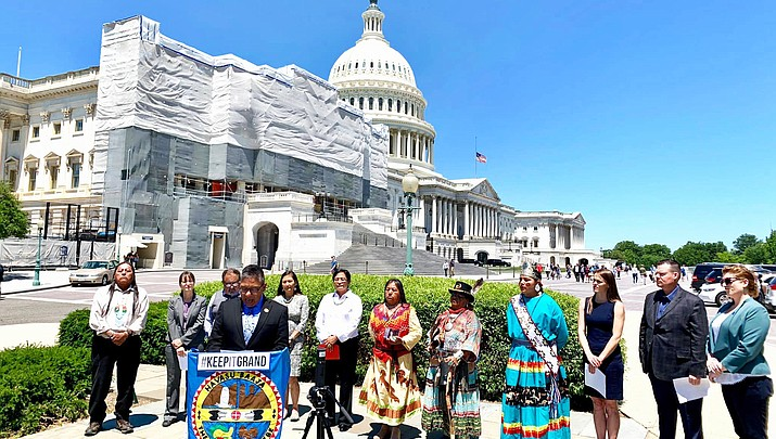 Navajo Nation voices support for  the protection of Grand Canyon from uranium mining at U.S. Capitol