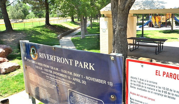 The city is conducting a study to see what the future recreational uses for Riverfront Park will be in Cottonwood. VVN/Vyto Starinskas