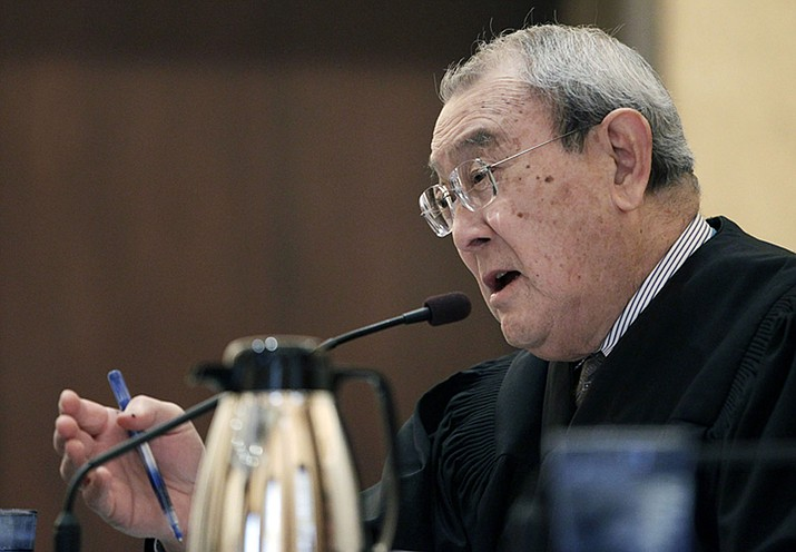 U.S. 9th Circuit Court of Appeals Judge A. Wallace Tashima. (Paul Sakuma/AP, File)