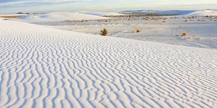 White Sands National Monument near Holloman AFB, New Mexico. (Photo/NPS)