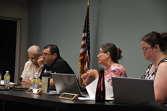 Kingman Unified School District Governing Board gave its approval for Chartwells Schools Dining Services to provide the food services for the district at its schools. (Photo by Vanessa Espinoza/Daily Miner)