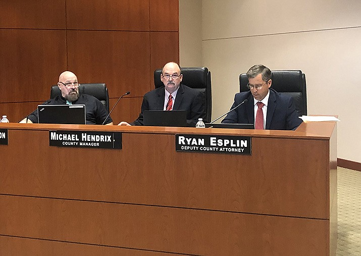 County Manager Mike Hendrix came to the conclusion that the cost of rotating meetings among county cities would be less than it was previously estimated. (Photo by Agata Popeda/Daily Miner)