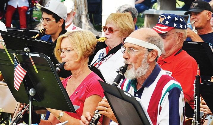 Come hear the Cottonwood Community Band as it provides music for two patriotic celebrations during June and July. Courtesy photo