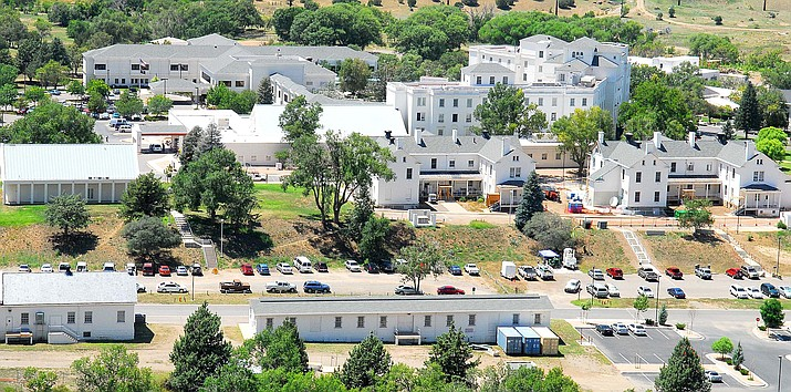 This July 29, 2008, file photo, shows the Prescott VA Hospital campus. The Department of Veteran Affairs is implementing a nationwide smoking ban at all of its federal health care facilities. (Courier file photo)