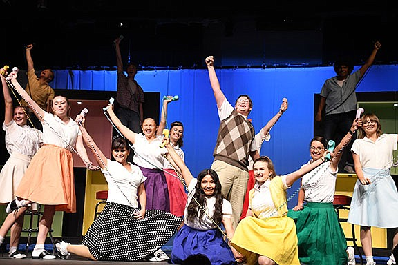 Bye Bye Birdie: A Musical Comedy, 1 p.m. matinee and 7 p.m. Kingman High School, 4182 N. Bank St. Tickets are available at www.bealestreettheater.com, at the Gallery at KCA or at the door. Ticket prices are $12 for adults and $5 for kids (4-11). (Photo by Vanessa Espinoza/Daily Miner)