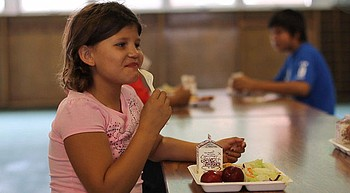 Free food?  Summer  lunches provided for students photo