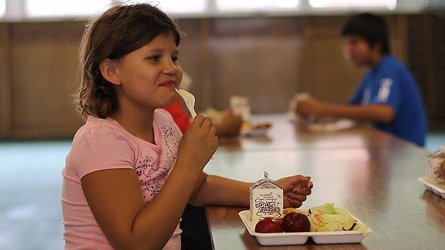 Free summer lunches are offered at The Club for YOUth and Palo Christi Elementary School. (USDA photo)