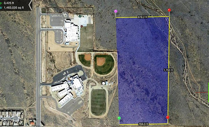 The City has budgeted $384,820 for Sunbelt Park, which includes soccer fields, basketball courts and much more. (City of Kingman courtesy image)