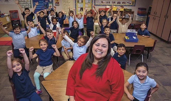 Michelle Doherty, 2017 Arizona Teacher of the Year (Arizona Education Foundation/azedfoundation.org)