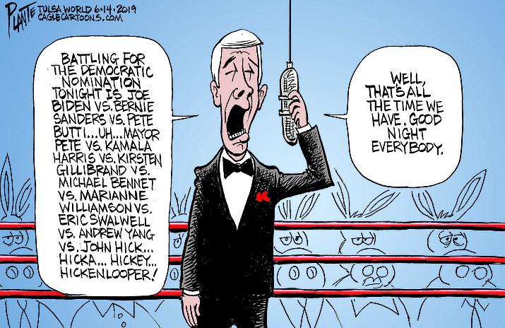 Editorial cartoon (2): June 17, 2019