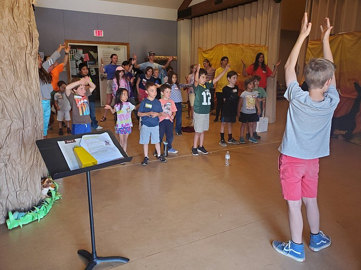 Grand Canyon students attended Vacation Bible School at the Rec Center June 10-14. (Erin Ford/WGCN)