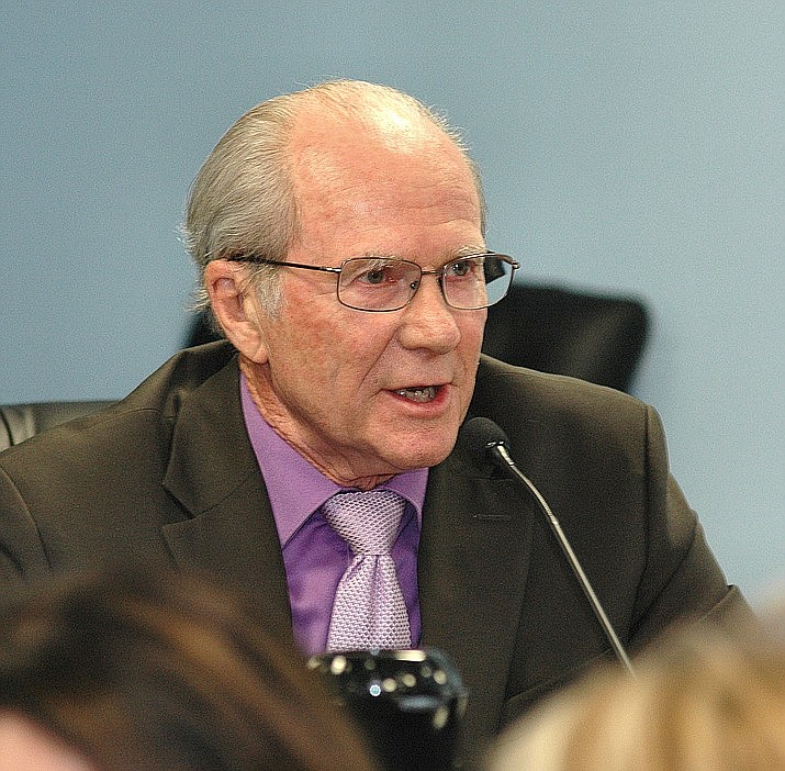 Arizona Corporation Commission Chairman Bob Burns in a 2017 file photo. (Howard Fischer/Capitol Media Services, file)