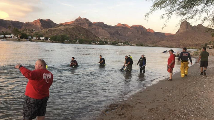 La Paz County Sheriff's Office search the Colorado River but did not find any other explosive devices. (Photo courtesy La Paz County Sheriff's Office)