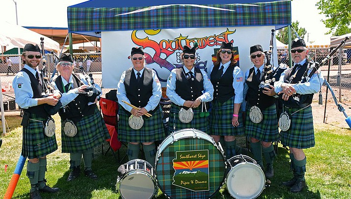 Celebrate the summer solstice with Southwest Skye Pipes and Drums