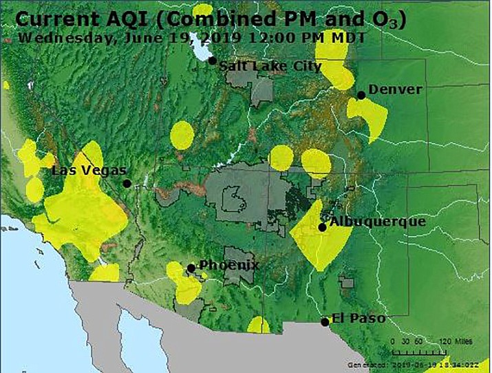 US air quality is slipping after years of improvement   Kingman