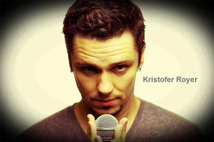 Stand-up comic Kristofer Royer will be performing at the Elks Theatre and Performing Arts Center. (Courtesy)