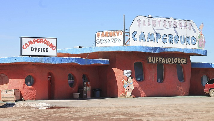 Flintstone's-themed attraction, Bedrock City, reopens for one last summer hurrah
