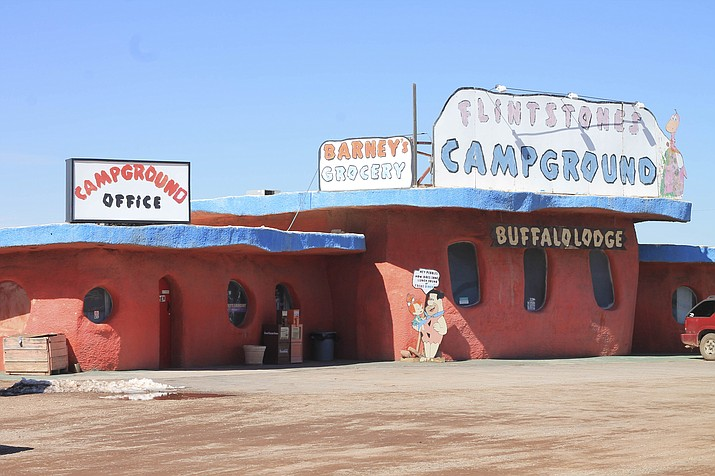 Bedrock City, which opened in Valle, Arizona in 1972, closed Jan. 28 after being sold to a new owner. New owner Troy Morris just announced the campground and RV park will be open for one more summer beginning June 21. (Loretta Yerian/WGCN)