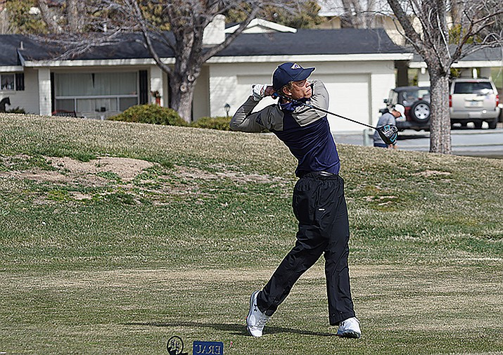 Zack Johnson of Embry-Riddle Men's Golf was selected to the 2018-19 Google Cloud Academic All-American At-Large Second Team by the College Sports Information Directors of America on Tuesday. (Aaron Siple/Courtesy, file)