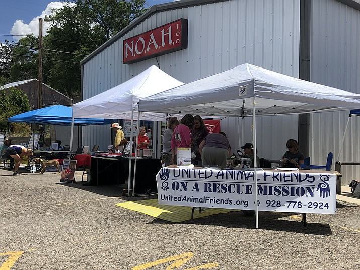 NOAH Thrift Store, which supports various animal rescue organizations, celebrated its 20th anniversary Saturday, June 22, 2019. (Lorette Brashear/Courtesy)