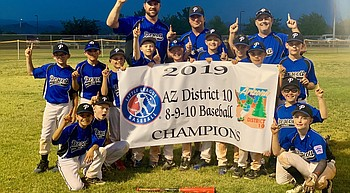 Prescott All-Stars tear through minor's tourney to win D10 championship photo