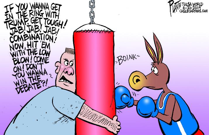 Editorial cartoon (2): June 24, 2019