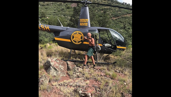 Prescott man said he lost his way on hike before rescue crews found him