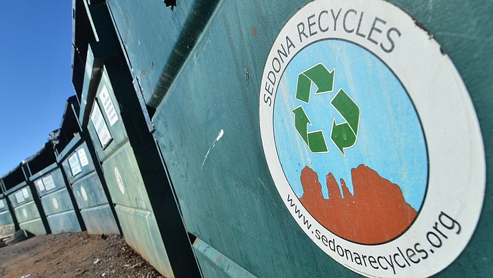 The recycling center located on Camino Real Drive across from Mingus Union High School will be closed, until further notice, beginning Wednesday, July 3. VVN file photo