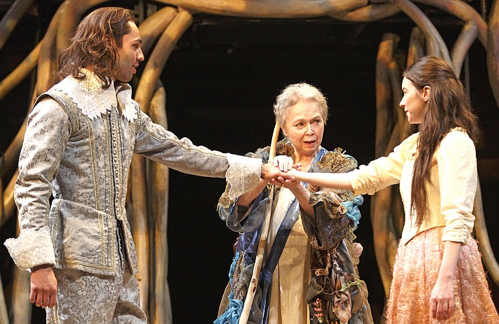 "Magic is in the air in the Stratford Festival's latest production of Shakespeare's final masterpiece, ""The Tempest"", an elaborate production with eye-popping costumes."