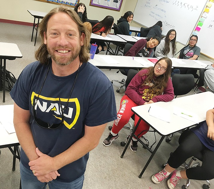 Jeff Clarke has taught at Beaver Creek School for 13 of his 16 years in education. VVN/Bill Helm