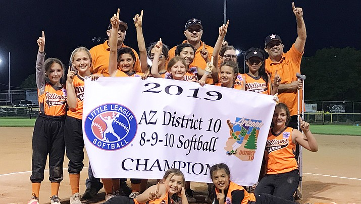 Williams 9-10 All Stars win District 10, head to state