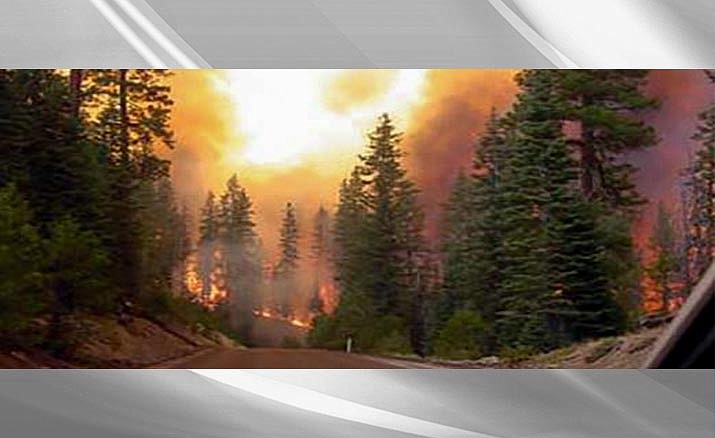 The Woodbury Fire has grown to 123,875 acres, started at about 1:30 p.m. on June 8 approximately five miles northwest of Superior.