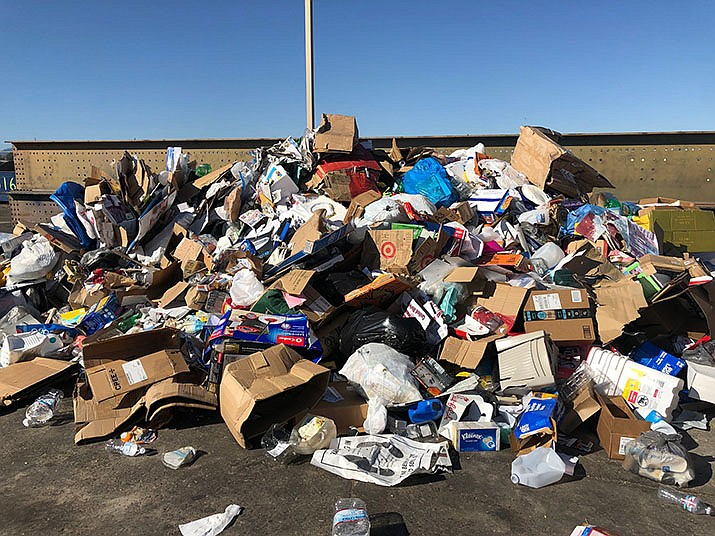Residential customers within city limits can take advantage of the quarterly, discounted trash cleanup from July 8 through July 31. (Photo by Agata Popeda/Daily Miner)