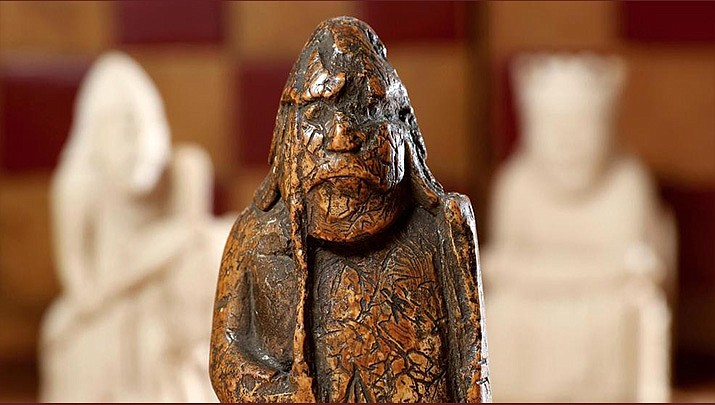 A 900-year-old Viking chess piece bought for a few dollars in the 1960s has sold at auction for 735,000 pounds ($927,000).