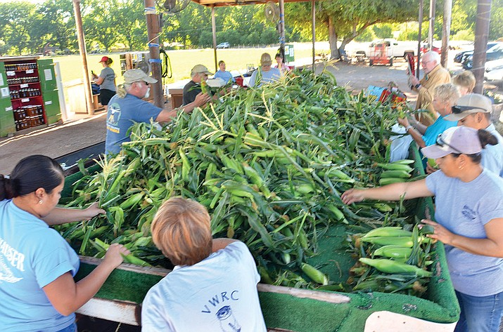 Hauser & Hauser Farms in Camp Verde was open Tuesday, the opening day of the fresh season. VVN/Vyto Starinskas