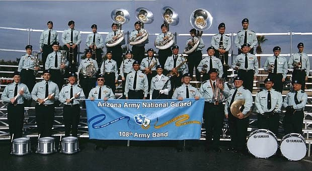 The 108th Army Band will perform at the courthouse plaza at 6:30 p.m. Friday, July 5. (Courtesy)