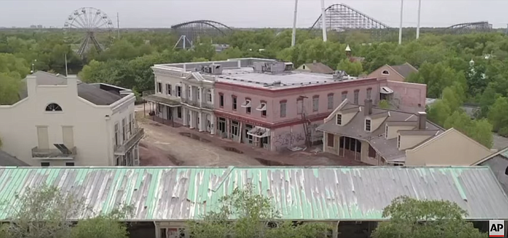 An abandoned New Orleans amusement park that has stood empty since Hurricane Katrina in 2005 may finally be torn down.