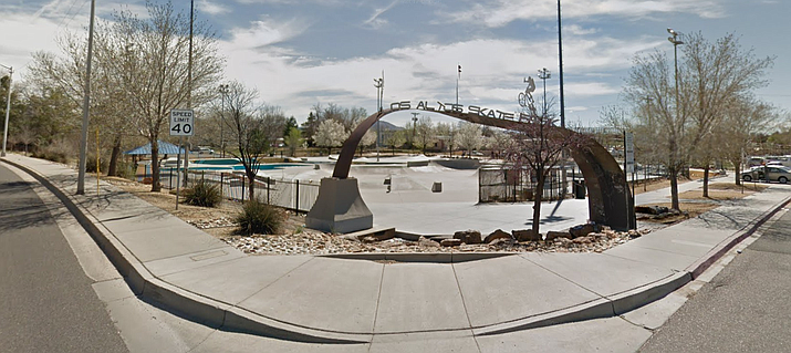 Los Altos skate park (Google Maps)