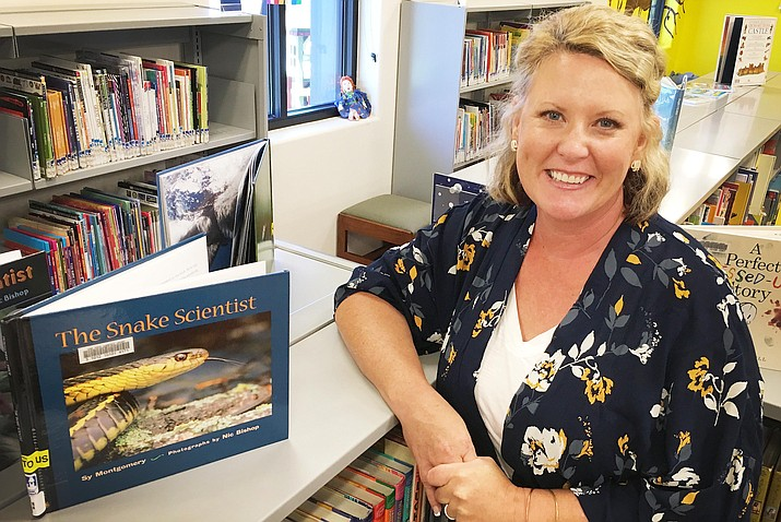 After 15 years in the classroom, Jennifer Jackson is the Camp Verde Community Library's new children's librarian. VVN/Bill Helm