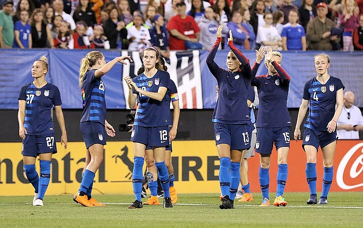 The U.S. Women's National Team is seeking its second consecutive World Cup championship when it faces the Netherlands first thing Sunday morning. (Photo by Jamie Smed, CC by 2.0, https://bit.ly/2FVuFKM)