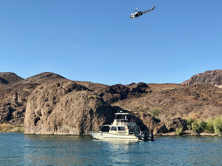 Authorities searched by water, air and land for a missing California teen. He was found deceased in the Colorado River north of Lake Havasu City on Saturday, July 6, 2019. (MCSO photo)