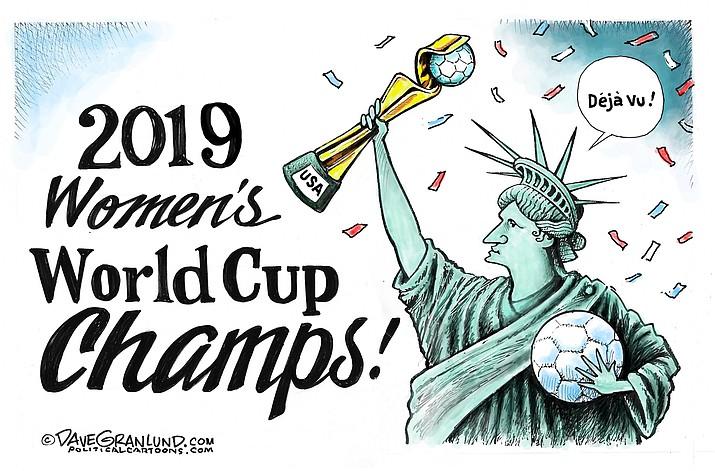 Editorial cartoon (2): July 8, 2019