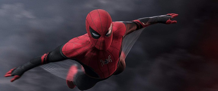 "Tom Holland plays Spider-Man in the latest film of the franchise, ""Spider-Man: Far from Home."" (Sony Pictures Entertainment)"